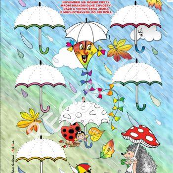 grafo-dáždniky